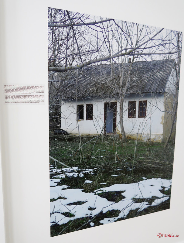 poza casa abandonata republica moldova