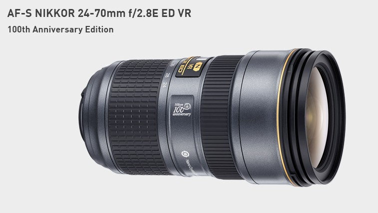 poza obectiv Nikkor 14-24mm f/2.8 - editie aniversara 100 ani Nikon