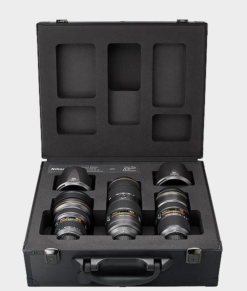 geanta setul NIKKOR triple F/2.8 zoom lens set