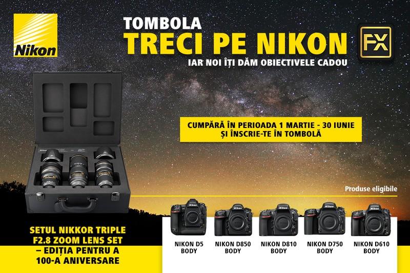 poza foto afis banner tombola Treci pe Nikon FX