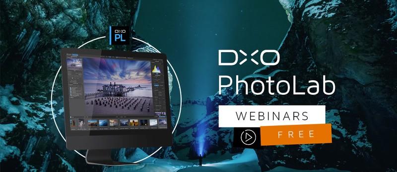 DxO PhotoLab webinar gratuit program editare prelucrare fotografii poze