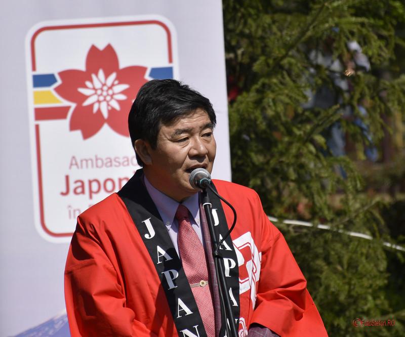 poza fotografie portret Kisaburo Ishii ambasadroul Japoniei Herastrau
