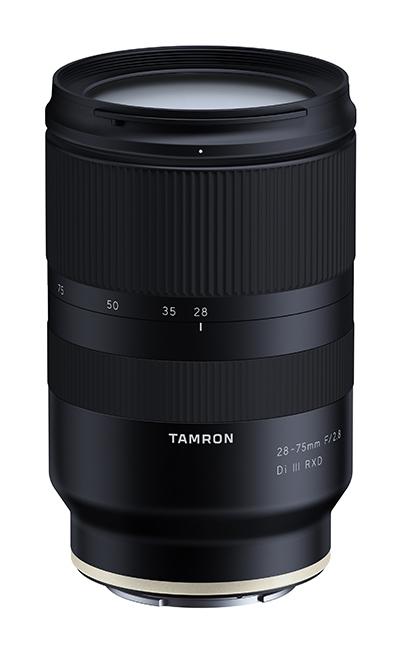 Tamron 28-75mm F/2.8 Di III RXD poza obiectiv aparat foto mirrorless