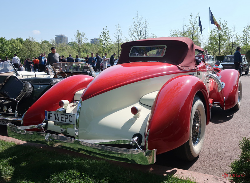 poza spate portbagaj Auburn 852 Supercharged masina istorica bucuresti