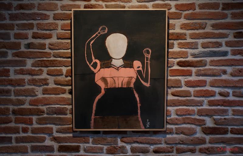 poza tablou expozitia arta Zile Florin Mitroi Arcub Bucuresti