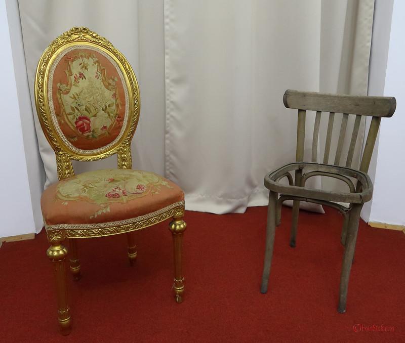 poze scaune palatul sutu Muzeul Municipiului Bucuresti