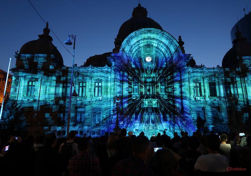 Spotlight Bucharest International Light Festival video mapping contest