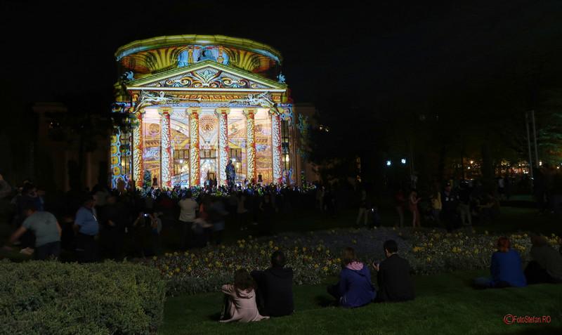 poza foto Festivalul Luminii Spotlight Bucuresti ateneul roman