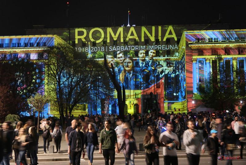 Festivalul Luminii Spotlight 2018 fotografii poze