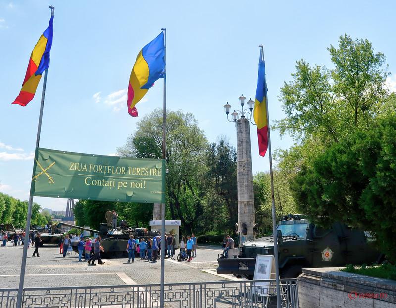poze ziua fortelor terestre armata romaniei parcul carol bucuresti