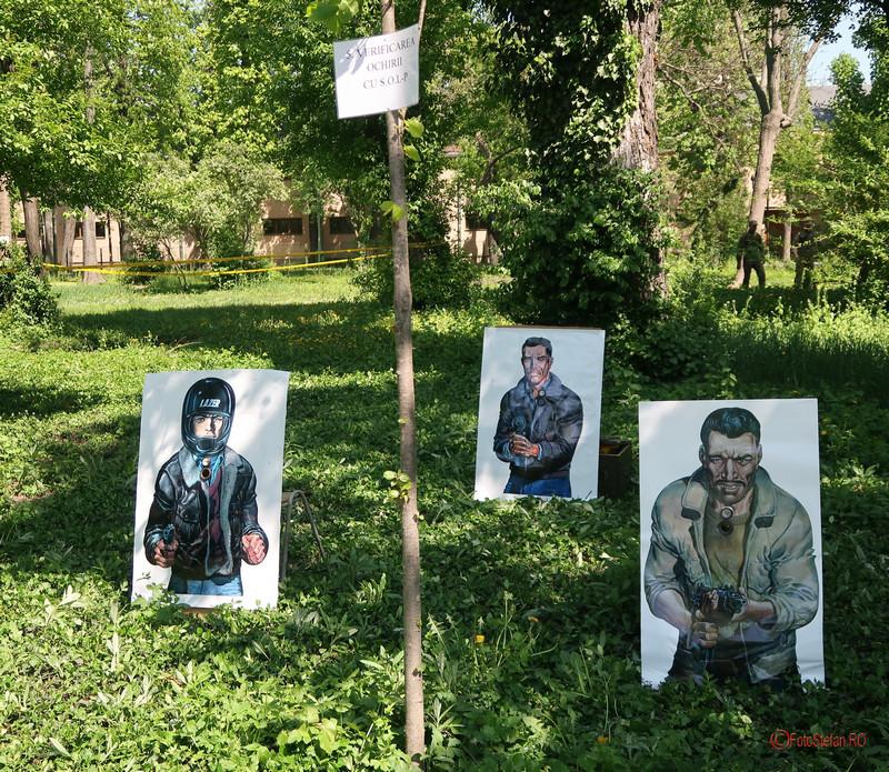 poza exercitiu verificarea ochilor armata romaniei parcul carol bucuresti