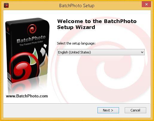 poza captura ecran program prelucrare fotografii BatchPhoto Enterprise