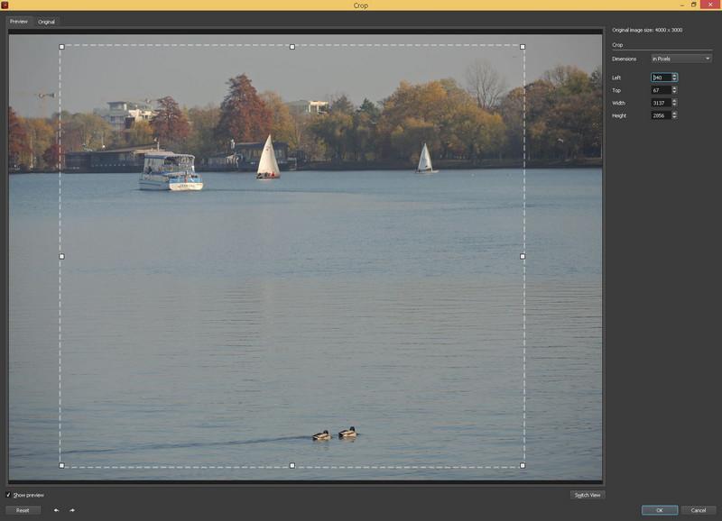 crop BatchPhoto Enterprise program editare prelucrare fotografii poze