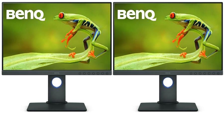 poza monitor editare foto video pret accesibil BenQ PhotoVue SW240