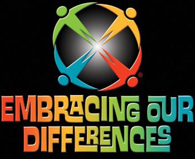 Embracing Our Differences 2018 Art Competition poster banner