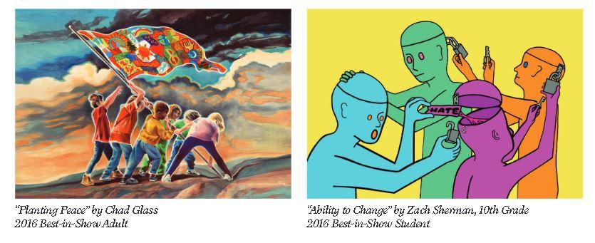 poze desen Embracing Our Differences Art Competition