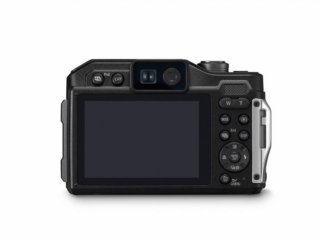 poza aparat foto compact subacvatic lcd vizor Panasonic Lumix FT7