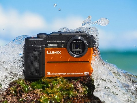 Panasonic Lumix FT7 aparat foto compcat rezistent intemperii