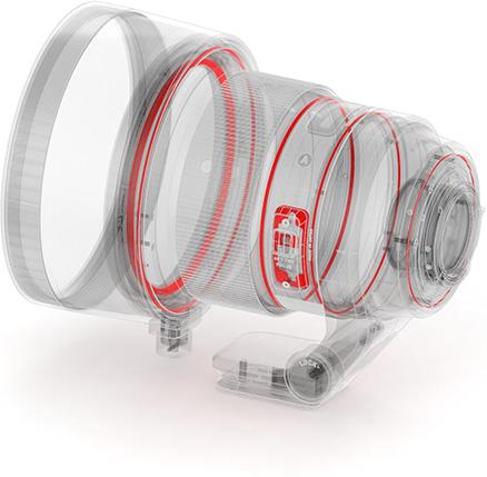 poza protectii intemperii umezeala obiectiv Sigma 105mm F1.4 DG