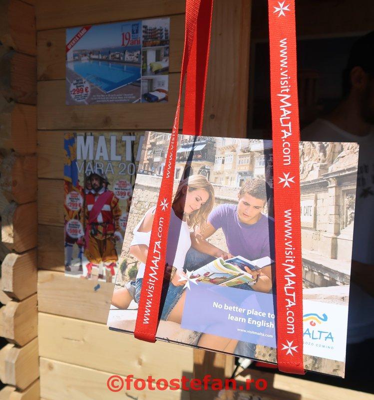 carte vizitati malta Ziua Europei  parcul Cismigiu Bucuresti