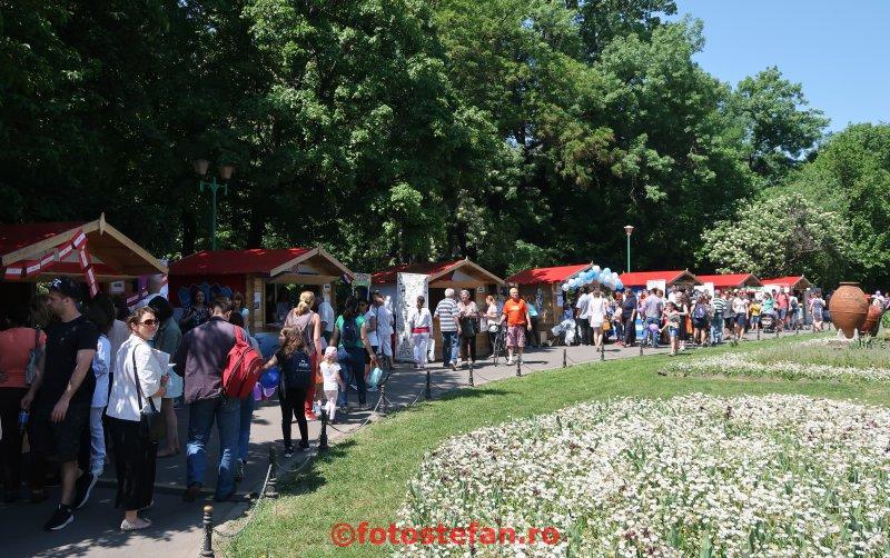 poza flori Ziua Europei  parcul Cismigiu Bucuresti