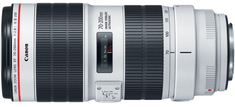 EF 70-200mm f/2.8L IS III USM noua versiune
