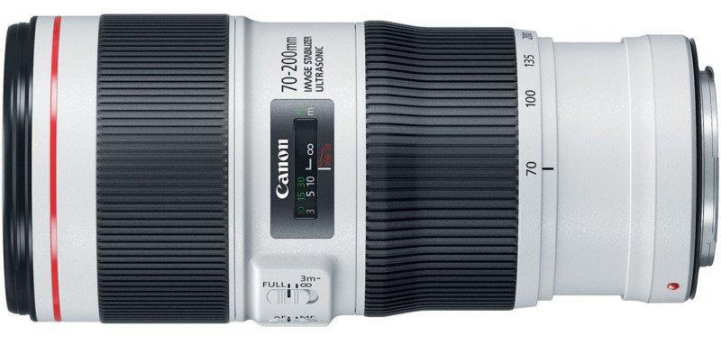 Canon 70-200mm f/4L IS II USM  poza teleobiectiv