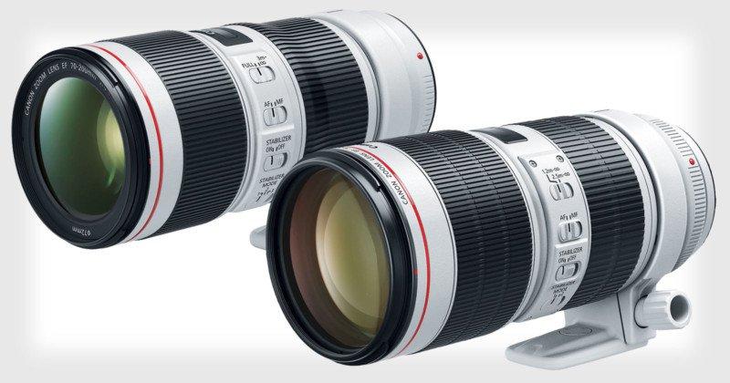 Canon 70-200 mm teleobiectiv obiectiv zoom seria L