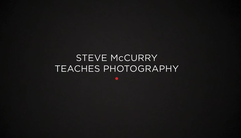 Curs foto online fotograf american Steve McCurry