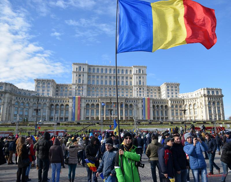 steagul romaniei poza 1 decembrie casa poporului parlament bucuresti