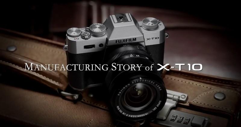 cum se fabrica aparat foto mirrorless Fujifilm X-T10