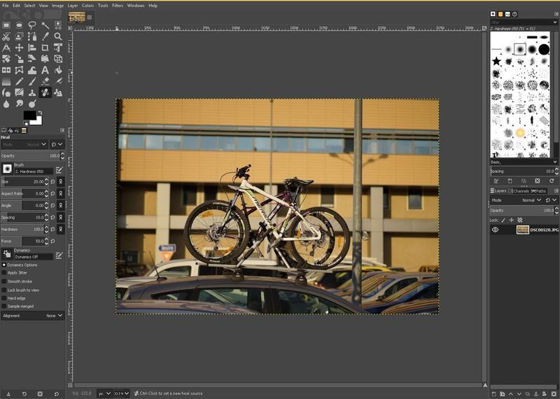 gimp program gratuit editare foto