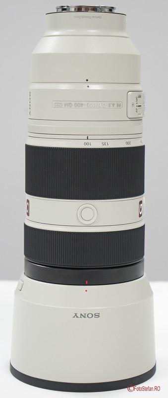 poza obiectiv zoom aparat foto mirrorless Sony FE 100-400 F4.5-5.6 GM OSS