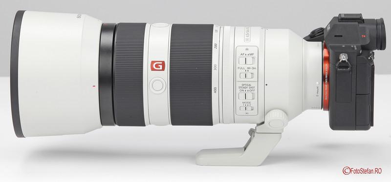 poza obiectiv zoom Sony 100-400 F4.5-5.6 GM OSS mirrorless sony a7 iii