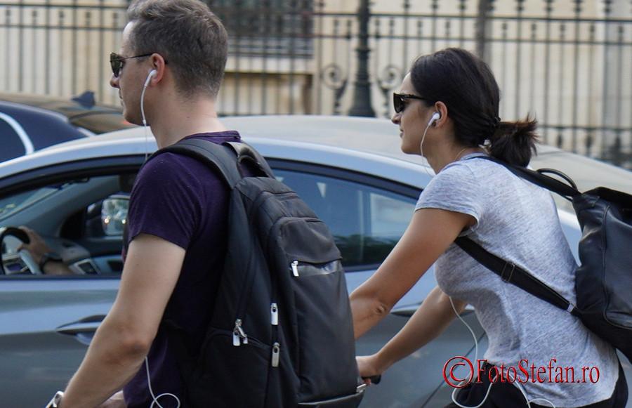 Test Sony A7 III autofocus biciclisti bucuresti romania
