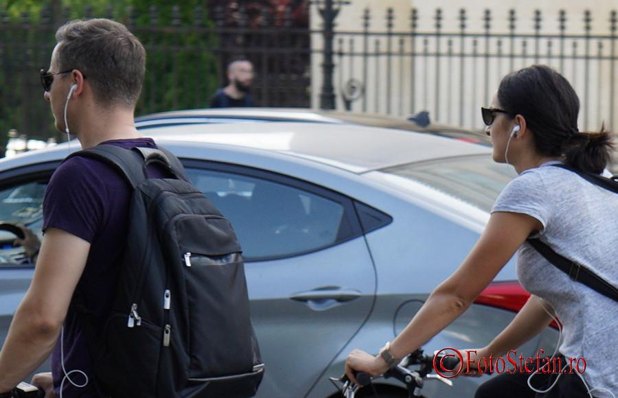 Test Sony A7 III biciclisti calea victoriei bucuresti romania