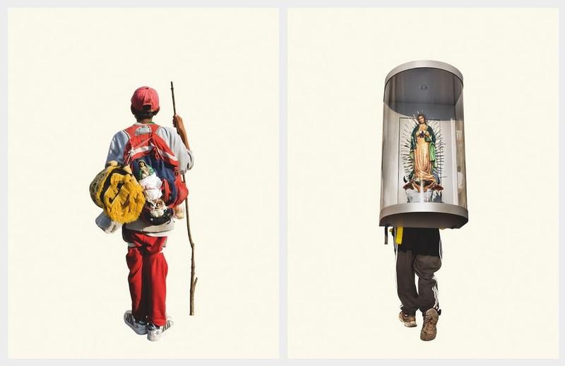 artisti fotografa Alinka Echeverría pelerini mexic icoane poze