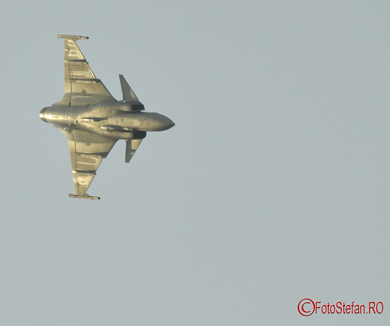 poze Saab JAS 39 Gripen Bucharest International Air Show BIAS 2018