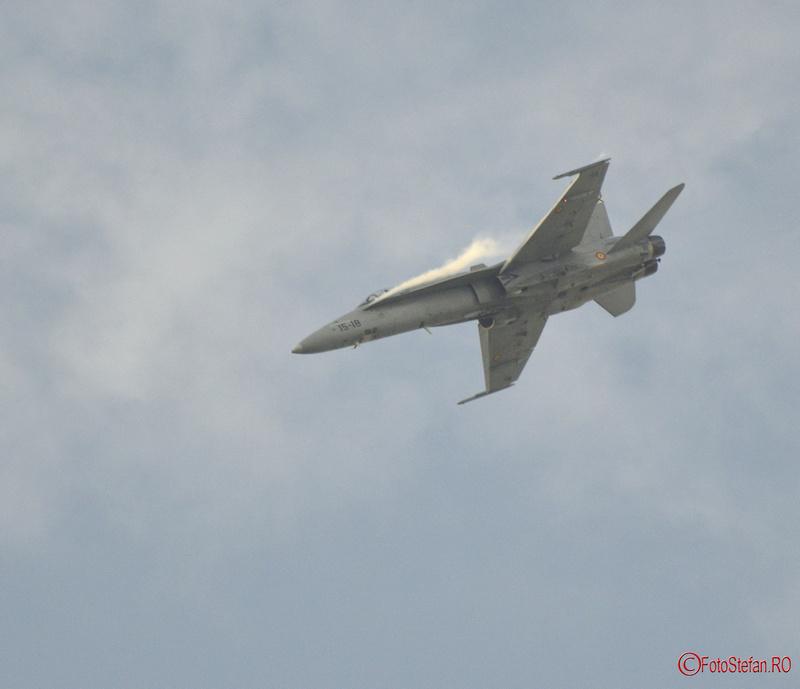 poze F-18C Hornet Bucharest International Air Show BIAS