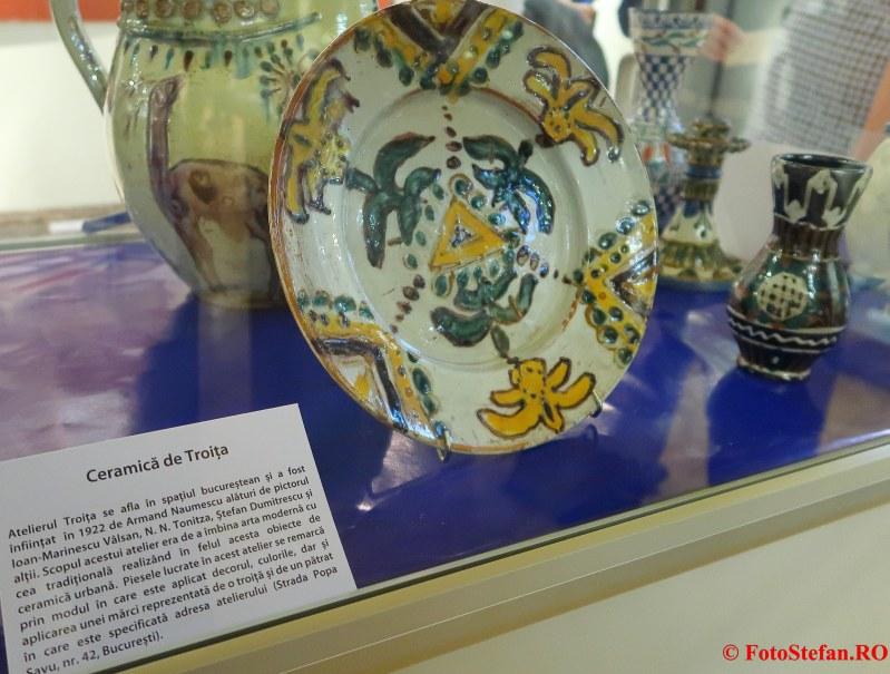 expozitie arta ceramica troita palatul sutu bucuresti