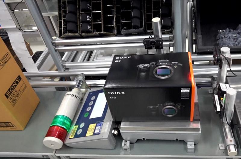 fabrica sony Chonburi tailanda poze fotografii sony a9