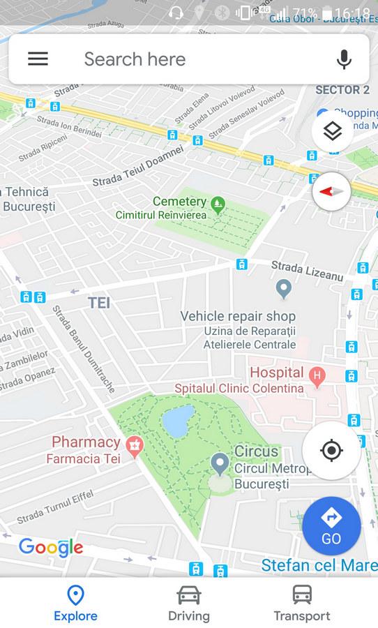 Google Maps offline harta gratuita app navigare