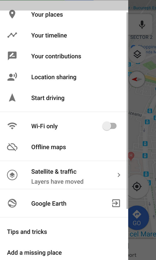 Google Maps offline harta navigare app gratuit