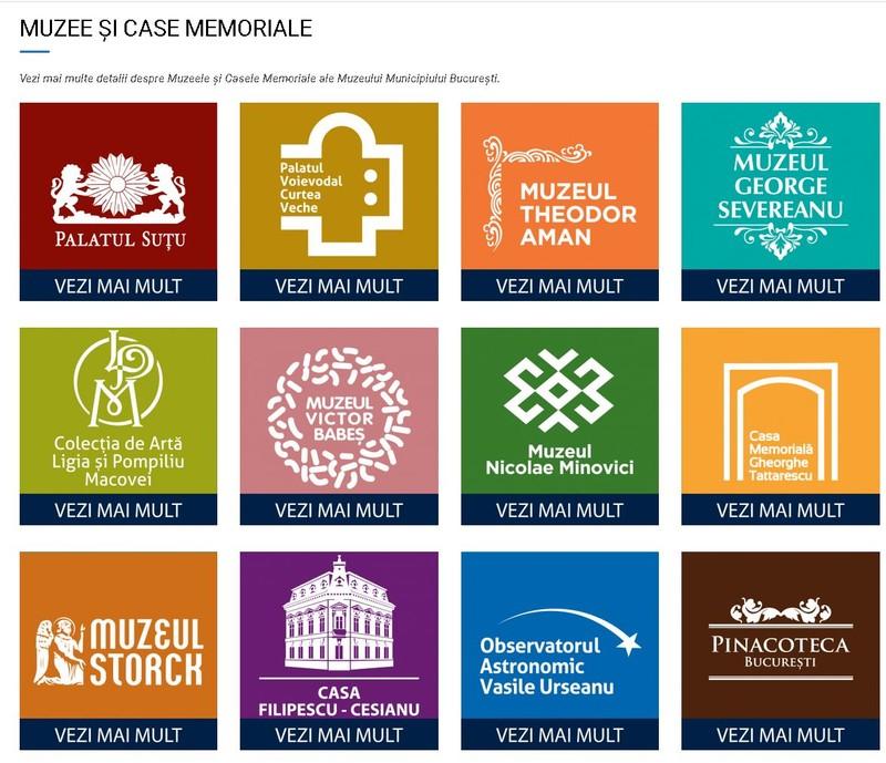 Muzeul Municipiului Bucuresti site nou