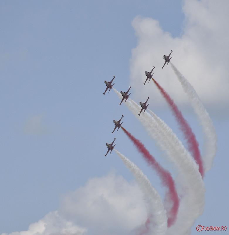 poze fotografii spectacol aerian Turkish Stars