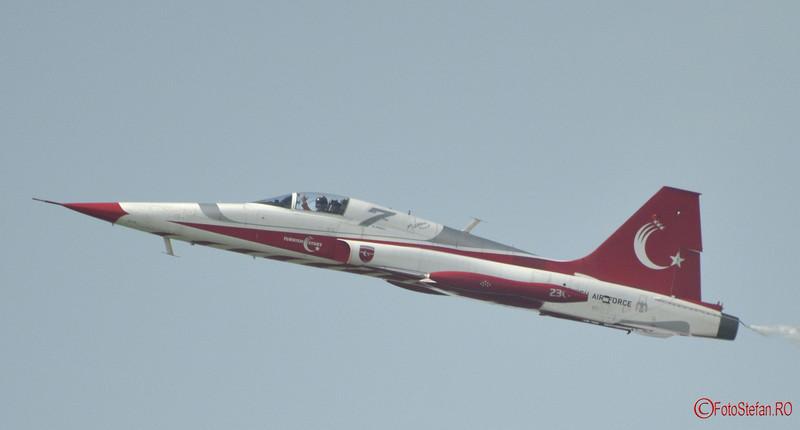 Turkish Stars pilot turc avion Canadair NF-5A