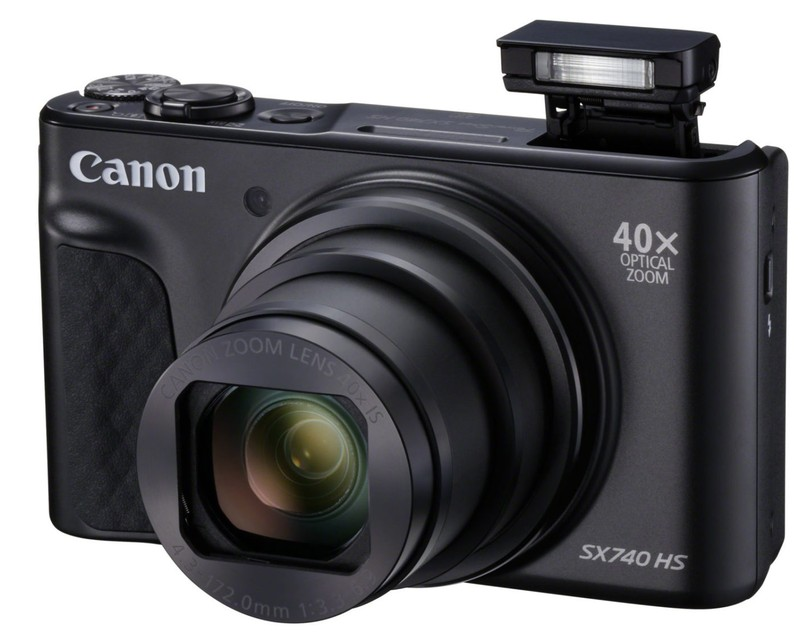 Canon PowerShot SX740 HS aparat foto compact calatorii vacante