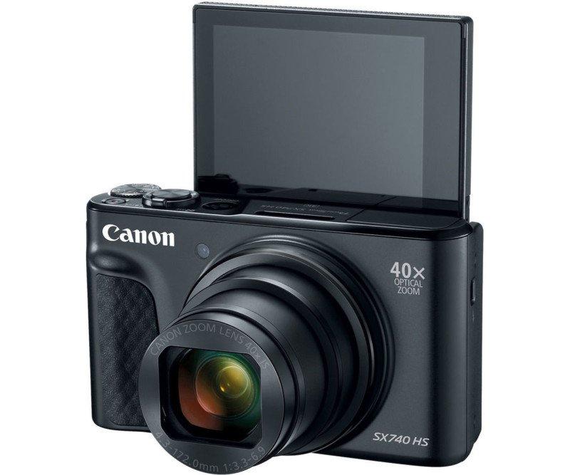 Canon PowerShot SX740 HS lcd rabatabil selfie calatorie vacanta