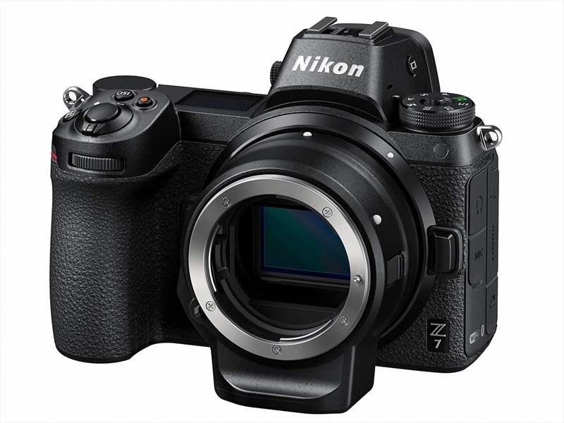Nikon Z7 poza adaptor Nikon FTZ montura Z mirrorless