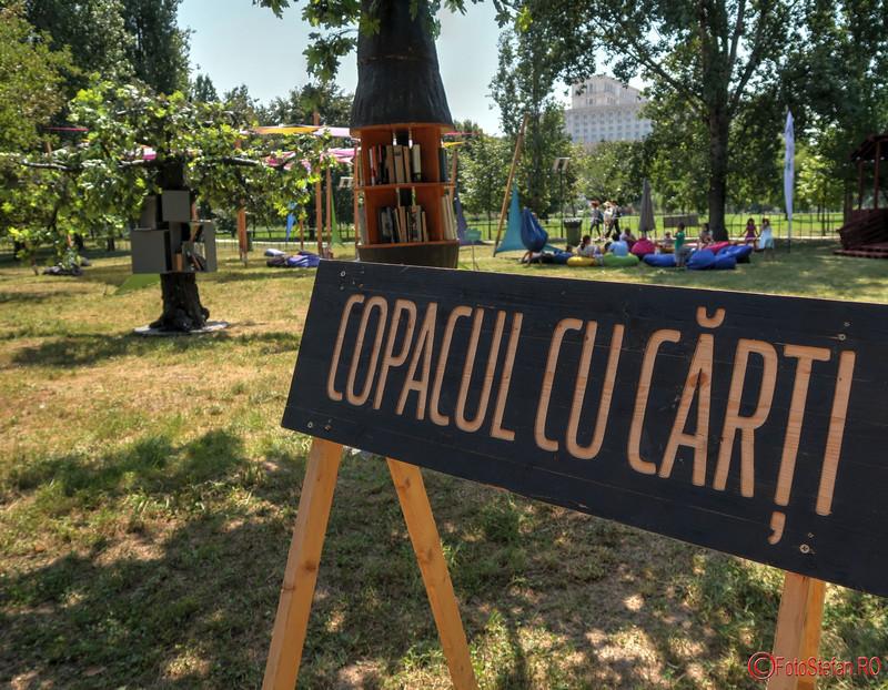 Copacul cu Carti 2018 bucuresti parcul izvor poze